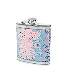 Blush Splash Mermaid Change Sequin Captive Flask