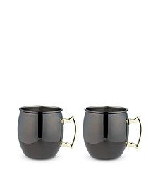 True Moscow Mule Mug with Handle, 2 Pack