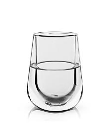 Viski Glacier Double Walled Chilling Wine Glass