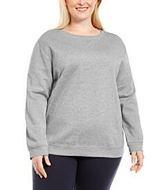 Plus Size Crewneck Sweatshirt, Created for Macy's