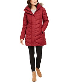 Women's Strollbridge Hooded Faux-Fur-Trim Coat