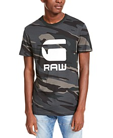 Men's Camo Logo T-Shirt, Created For Macy's