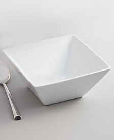 The Cellar Whiteware Square Cereal Bowl, Created for Macy's