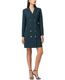 Long-Sleeve Blazer Dress