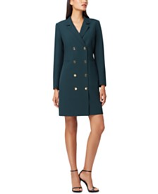Tahari ASL Long-Sleeve Blazer Dress