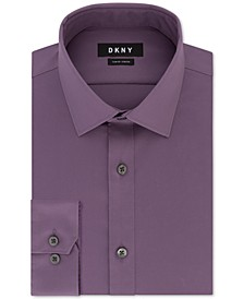 Men's Slim-Fit Stretch Solid Dress Shirt, Created for Macy's