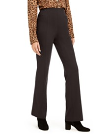 I.N.C. High-Waist Curvy-Fit Bootcut Pants, Created for Macy's