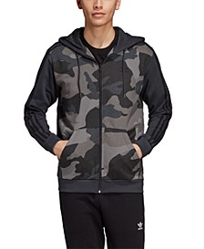 adidas Men's Originals Camo Zip Hoodie