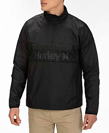 Men's Siege Anorak Logo Jacket