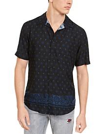 Men's Bandana Print Shirt, Created For Macy's