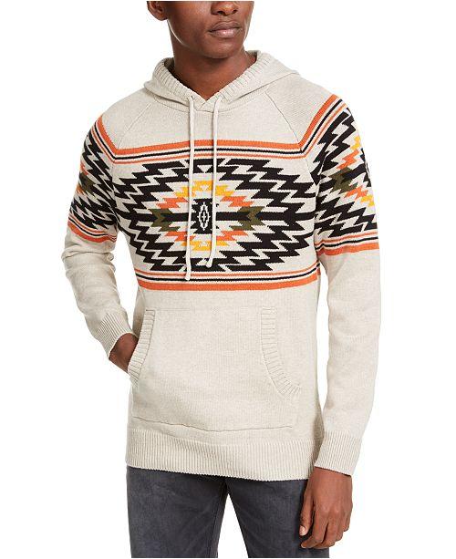 American Rag Men's Aztec Hoodie, Created For Macy's