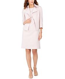 Open-Front Blazer & Sheath Dress