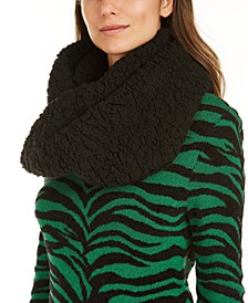 INC Faux-Sherpa Loop Scarf, Created For Macy's