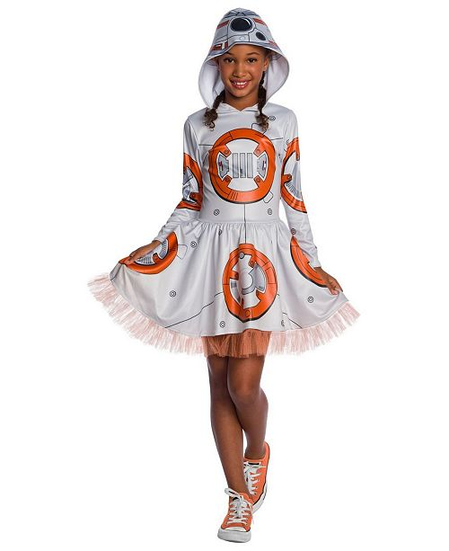 Buyseasons Little And Big Girl S Star Wars Episode Vii Bb 8 Child Hooded Tutu Dress Child Costume Reviews Toys Games Kids Macy S