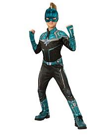 BuySeasons Girl's Captain Marvel Kree Suit Deluxe Child Costume