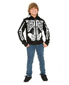 BuySeasons Boy's Skeleton Sweatshirt Hoodie