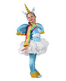 BuySeasons Girl's Candy Catchers Unicorn In the Clouds Child Costume