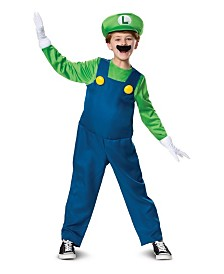 BuySeasons Boy's Luigi Deluxe Child Costume