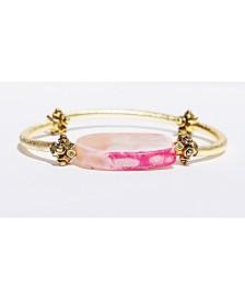 Michael Gabriel Designs Agate Barre Bracelet