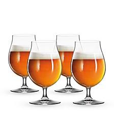 15.5 Oz Beer Tulip Glass Set of 4