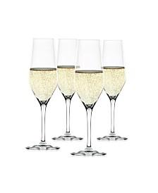 Spiegelau Style 8.5 Oz Champagne Flute Set of 4