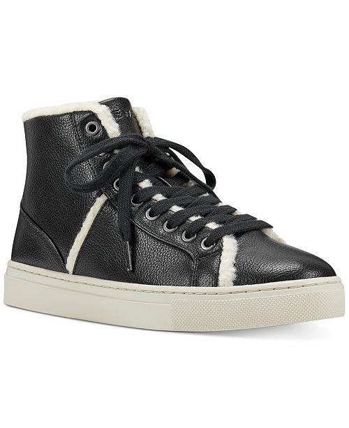 Nine West Mellie Fur Sneakers