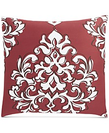 CLOSEOUT! Outline Damask Cotton 300-Thread Count European Sham, Created for Macy's