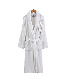 Ozan Premium Home Line Luxury Velvet Unisex Bath Robe