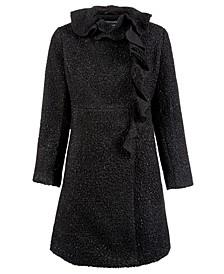 Big Girls Ruffled Coat