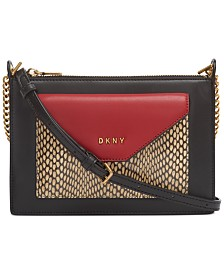 DKNY Alexa Top Zip Crossbody, Created for Macy's