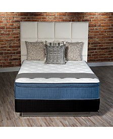 "iGravity Natural 13"" Ultra Plush Euro Top Mattress Set- Queen Split"