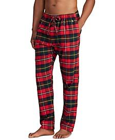 Men's Plaid Flannel Pajama Pants
