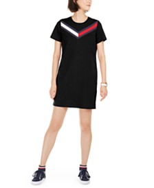 Tommy Hilfiger Sport  Striped T-Shirt Dress