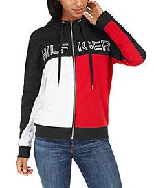 Tommy Hilfiger Sport Colorblocked Zip-Up Hoodie