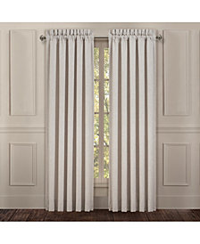 "Lauralynn Beige 84"" Window Panel Pair"
