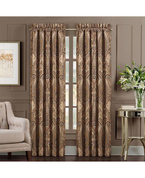 """J Queen New York J Queen Luciana 84"""" Window Panel Pair"""