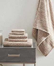 Signature Melange Turkish Cotton Intermingle Jacquard 6-Pc. Towel Set