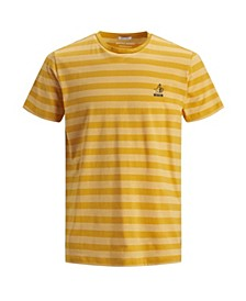 Men's New High Summer Short Sleeved Stripe Tshirt