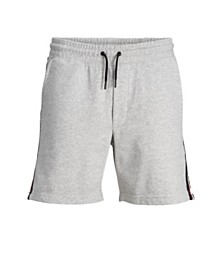 Jack & Jones Men's High Summer Sweat Shorts With Contrast Details