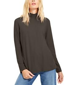 Eileen Fisher Mock-Neck Sweater