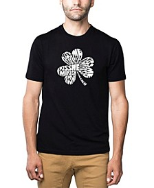 Men's Word Art T-Shirt - Kiss Me I'M Irish