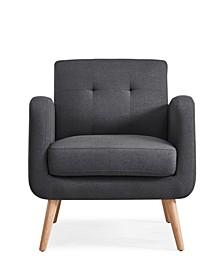 Kenneth Mid Century Modern Arm Chair