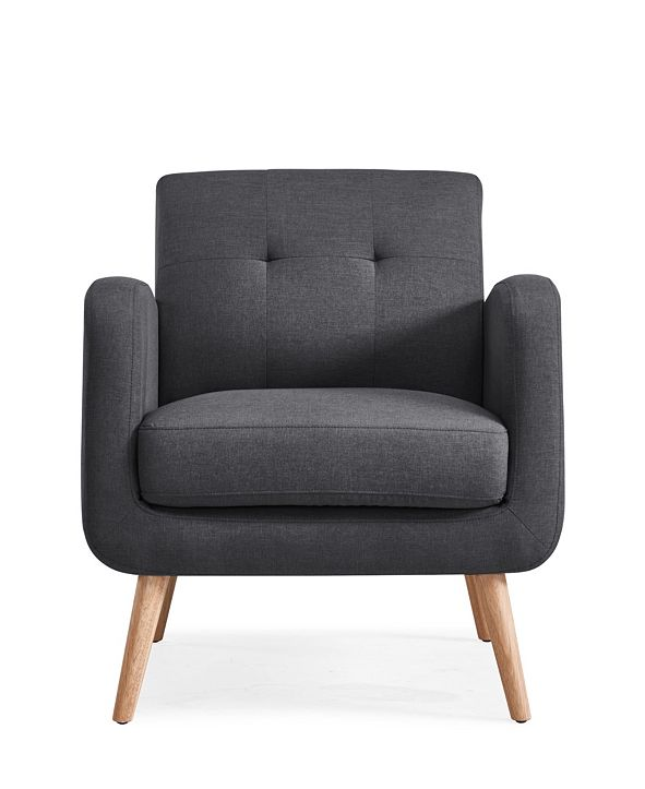Handy Living Kenneth Mid Century Modern Arm Chair