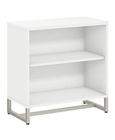 Kathy Ireland Office by Bush Furniture Method Bookcase Cabinet