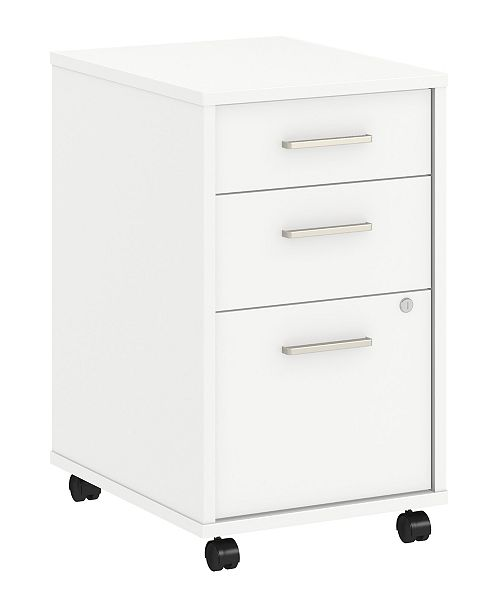 Kathy Ireland Office by Bush Furniture Method 3 Drawer Mobile File Cabinet - Assembled
