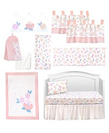 Pam Grace Creations Vintage Like Rose 13 Piece Crib Bedding Set