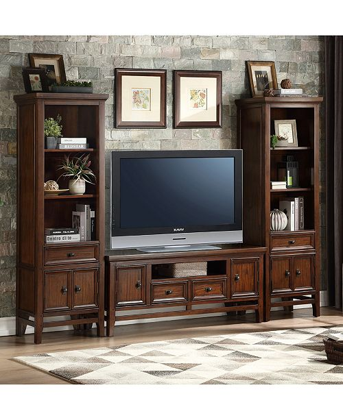 Homelegance Caruth Entertainment Center Collection