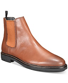 Men's Burnished Leather Chelsea Boots