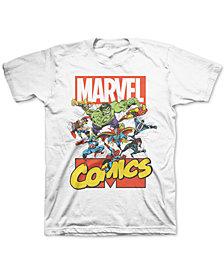 Marvel Big Boys Avengers Burst T-Shirt