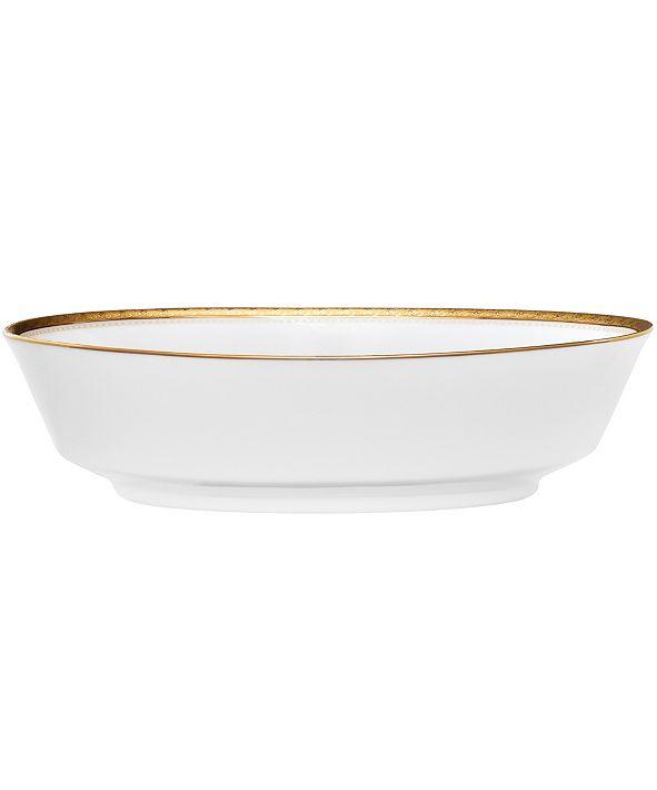 Noritake Charlotta Gold Oval Vegetable